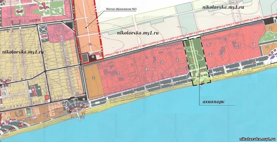 Полная карта Николаевки